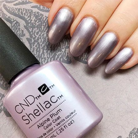 картинка CND Shellac Alpine Plum 7,3 мл от магазина Hit-Nail.ru