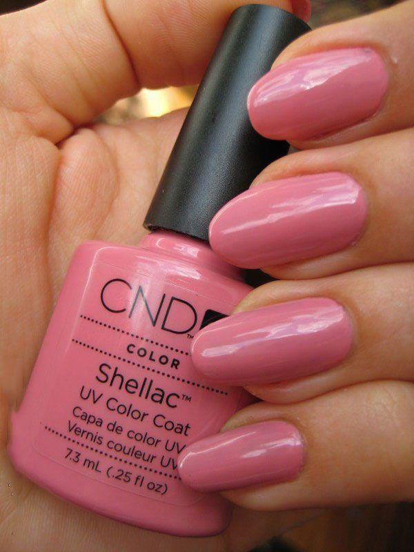 Lipgloss Break: CND Shellac in Rose Bud