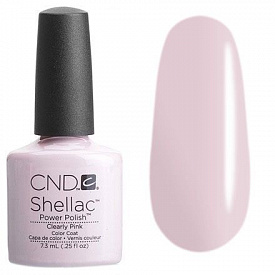 CND Shellac Clearly Pink 7,3 мл