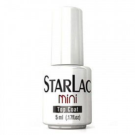 Топ без липкого слоя StarLac Mini No CleanceTop Coat 5 мл